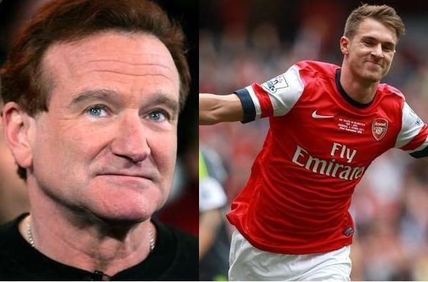 10 de agosto del 2014 Arsenal goleó 3-0 a Manchester City por la final de la Commmunity Shield. El volante marcó el segundo gol del encuentro y luego fue encontrado muerto Robin Williams.