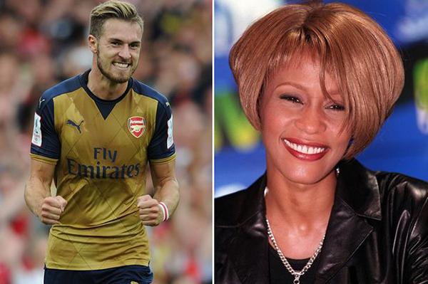 Un año después el 11 de febrero del 2012, Ramsey le hizo un gol a Sunderland. Horas más tarde, anunciaron la muerte de Whitney Houston.