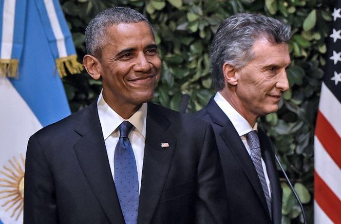 Barack Obama en visita oficial a Argentina | Foto AFP