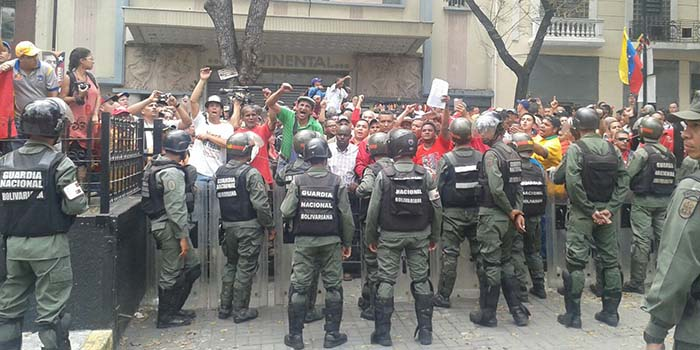 GNB Manifestación