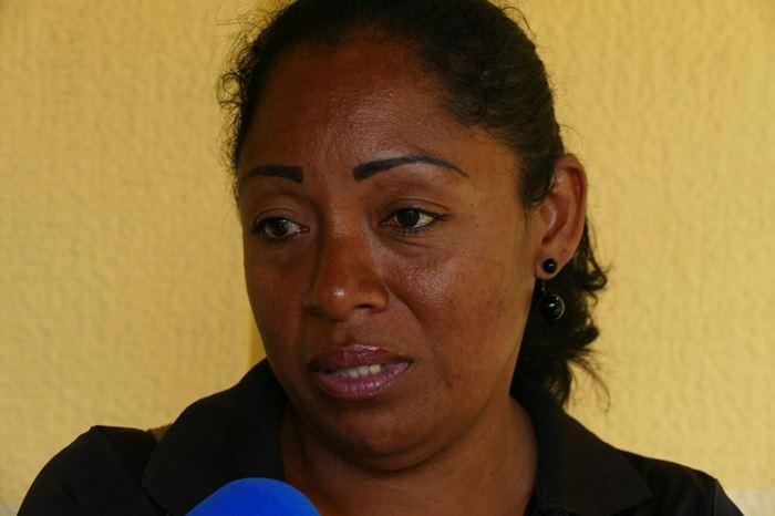 Giovanna Rojas, cuñada de victima en la morgue de Bello Monte