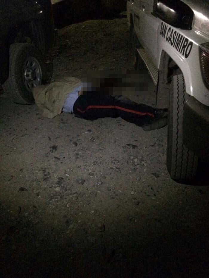 Policia muerto Enfrentamiento Aragua