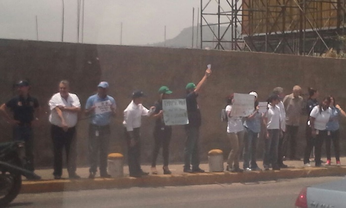 Protesta trabajadores Polar (2)