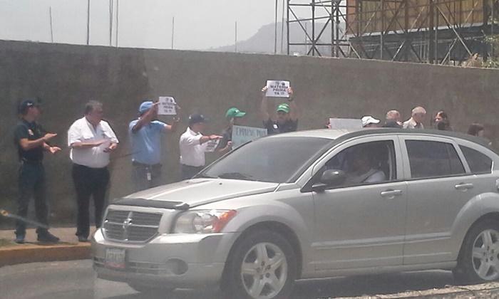 Protesta trabajadores Polar (4)