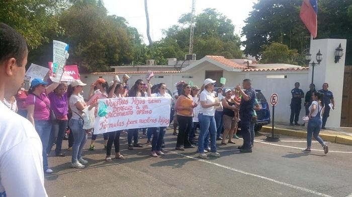 protesta falta de leche zulia 3