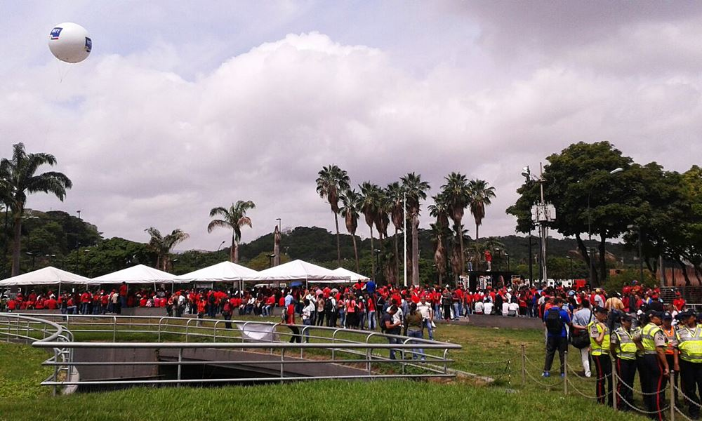 Movilización Opositora - Plaza Venezuela (12)