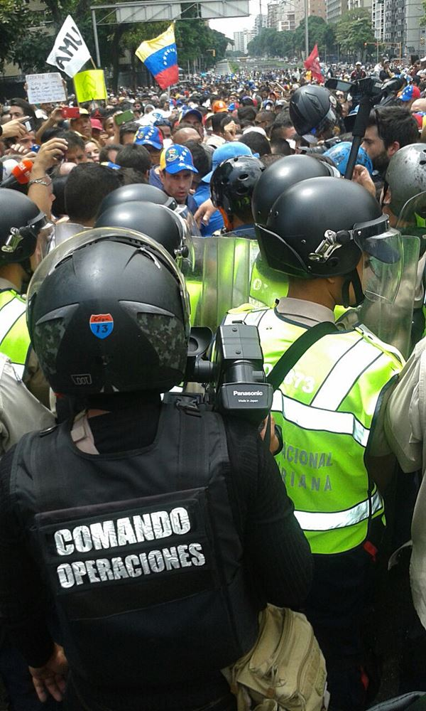 Movilización Opositora - Plaza Venezuela (15)