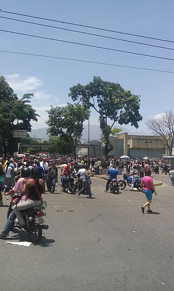 Protesta - Carapita - Comida