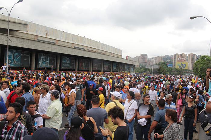 marcha oposicion cne 2