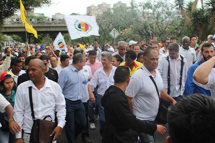 marcha oposicion cne 3