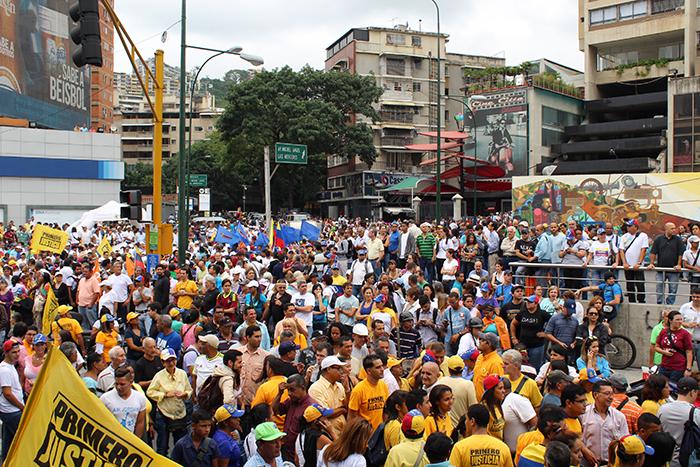 marcha oposicion cne 7