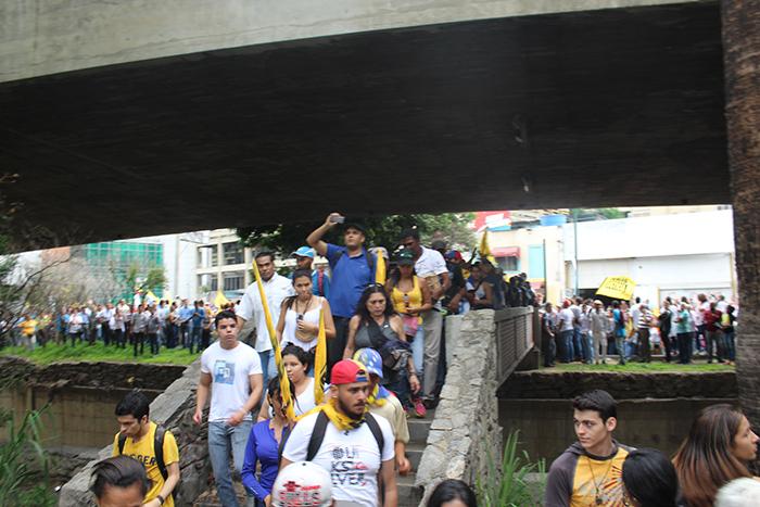 marcha oposicion cne 8