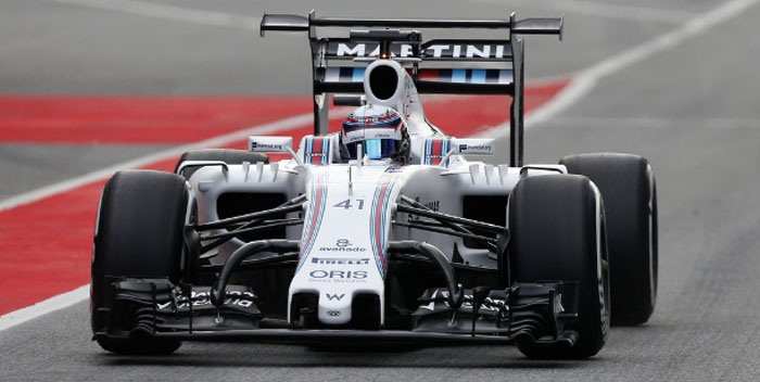 williams f1 formula 1 test