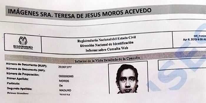 Datos Madre de Nicolás Maduro (1)