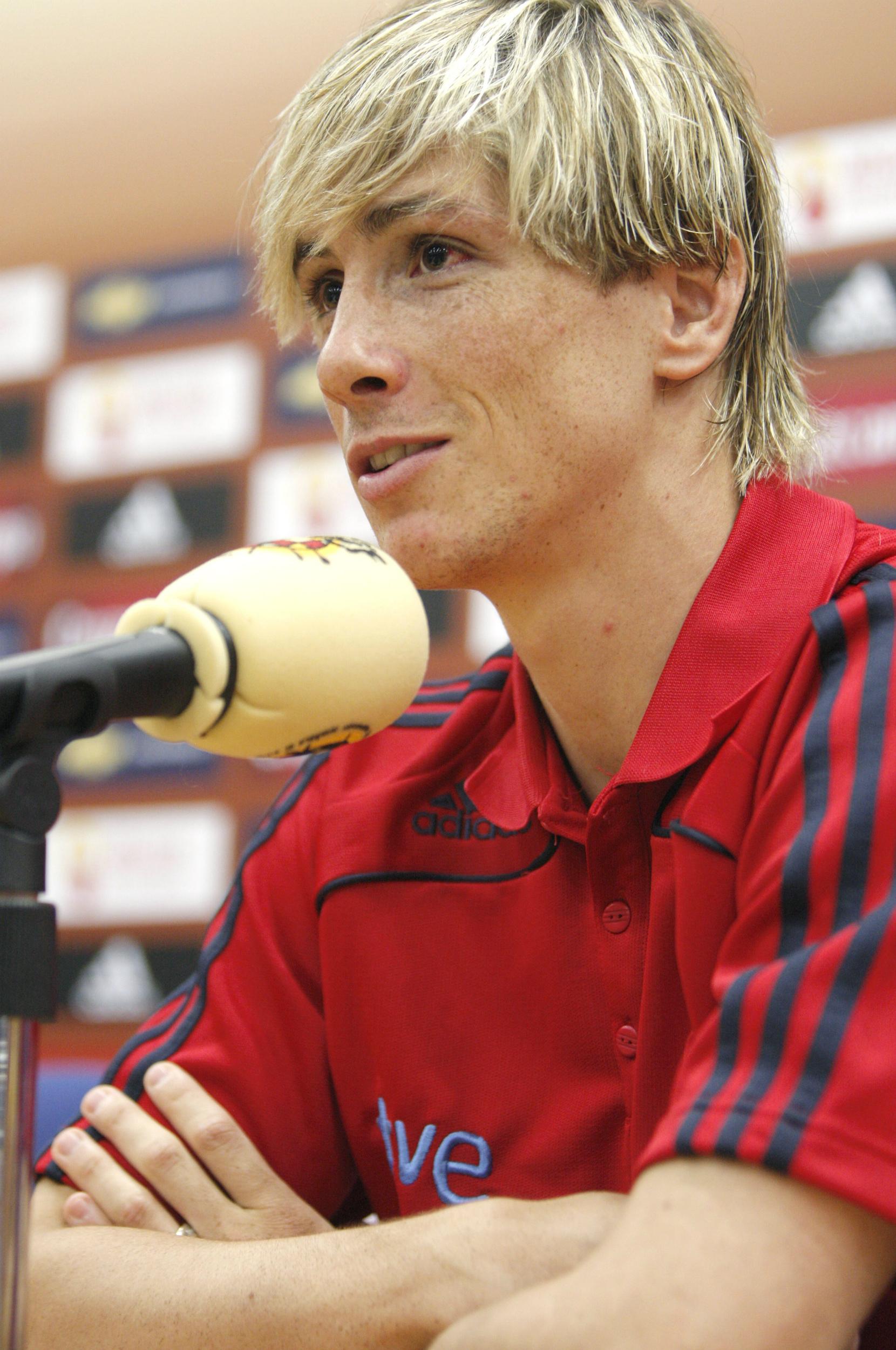 Fernando Torres en una imagen de 2009. EFE/Ángel Díaz