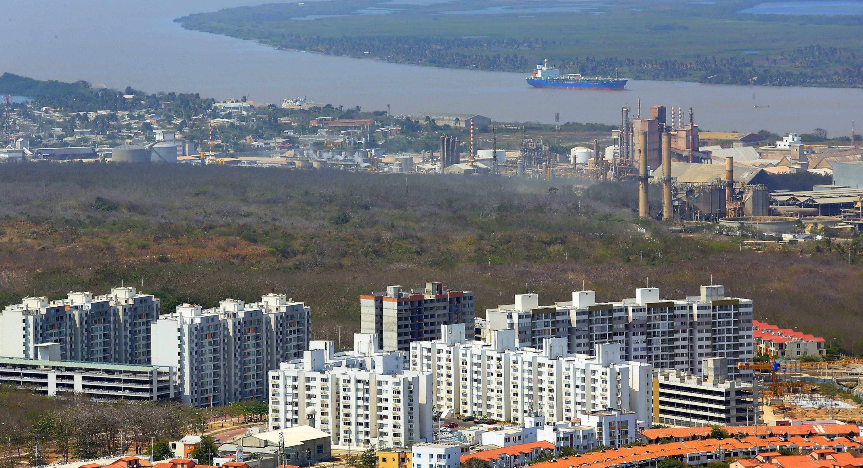 Fotografía sin fechar cedida Barranquilla recorrida por el Río Magdalena. . EFE/CORTESÍA ALCALDÍA DE BARRANQUILLA