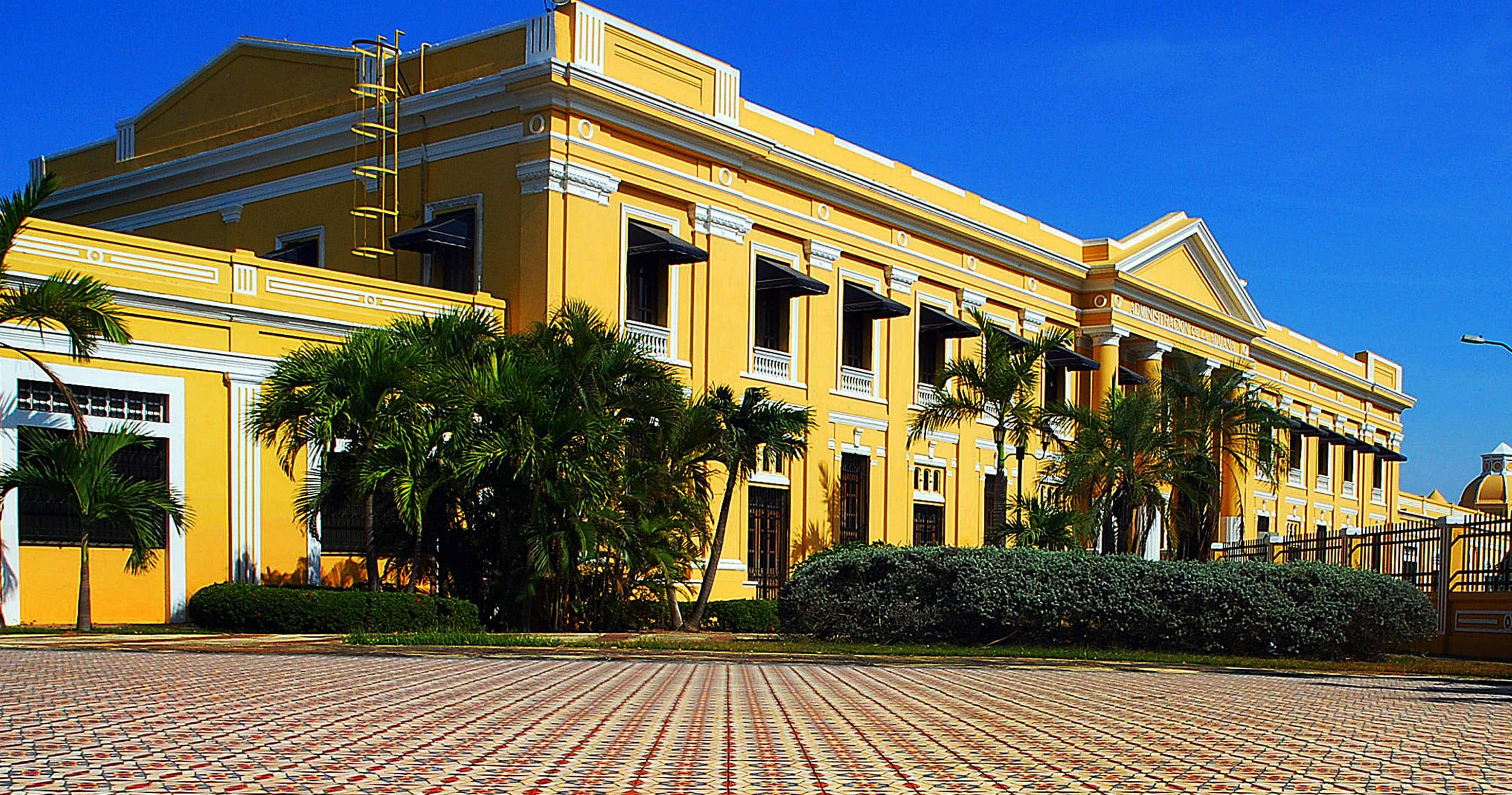 Edificio de la Aduana en el centro de la localidad colombiana de Barranquilla. Foto Cortesía Alcaldía de Barranquilla