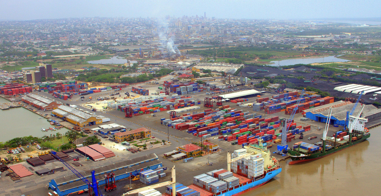 Actividad portuaria en la ciudad costeña.  EFE/CORTESÍA ALCALDÍA DE BARRANQUILLA