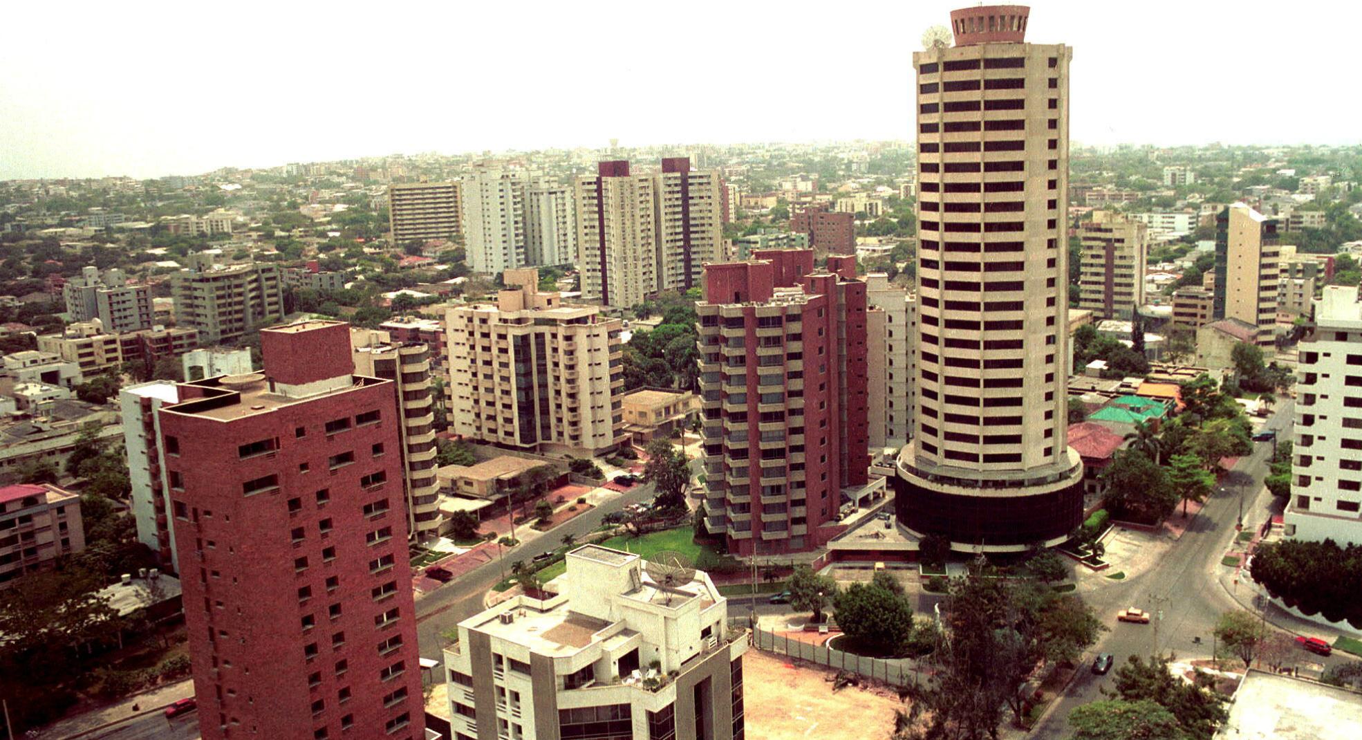 Vista general de la ciudad de Barranquilla. EFE/LUIS RAMIREZ