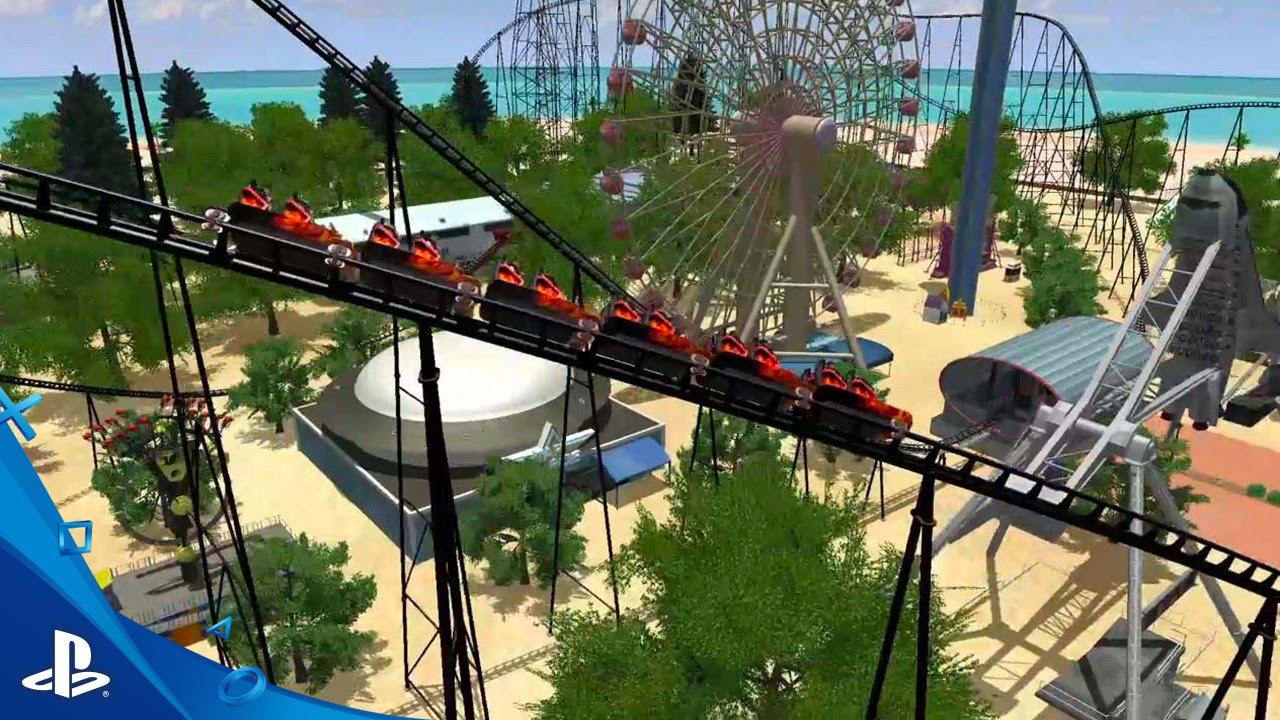 El Juego Rollercoaster Dreams Llega A La Ps4 Y La Ps Vr Este