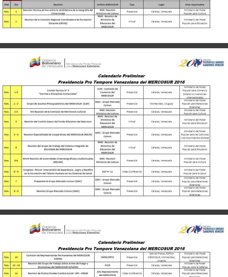 Mercosur-Noviembre 14