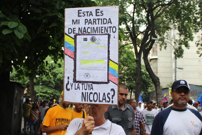 pancartas marcha 1S