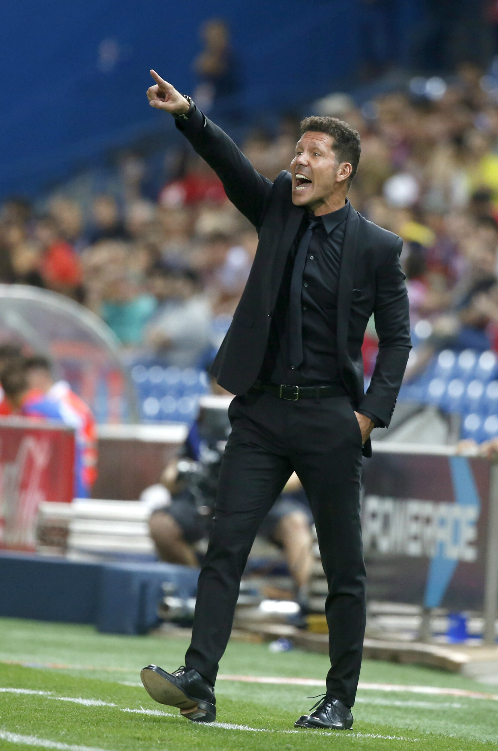 El liderazgo del entrenador argentino del Atlético de Madrid Diego Pablo Simeone está fuera de toda duda.