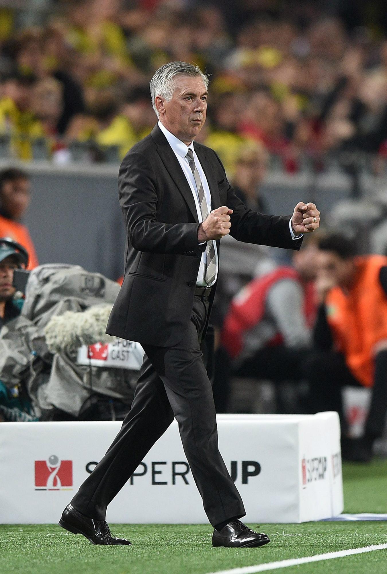 Carlo Ancelotti al frente del Bayern de Múnich.
