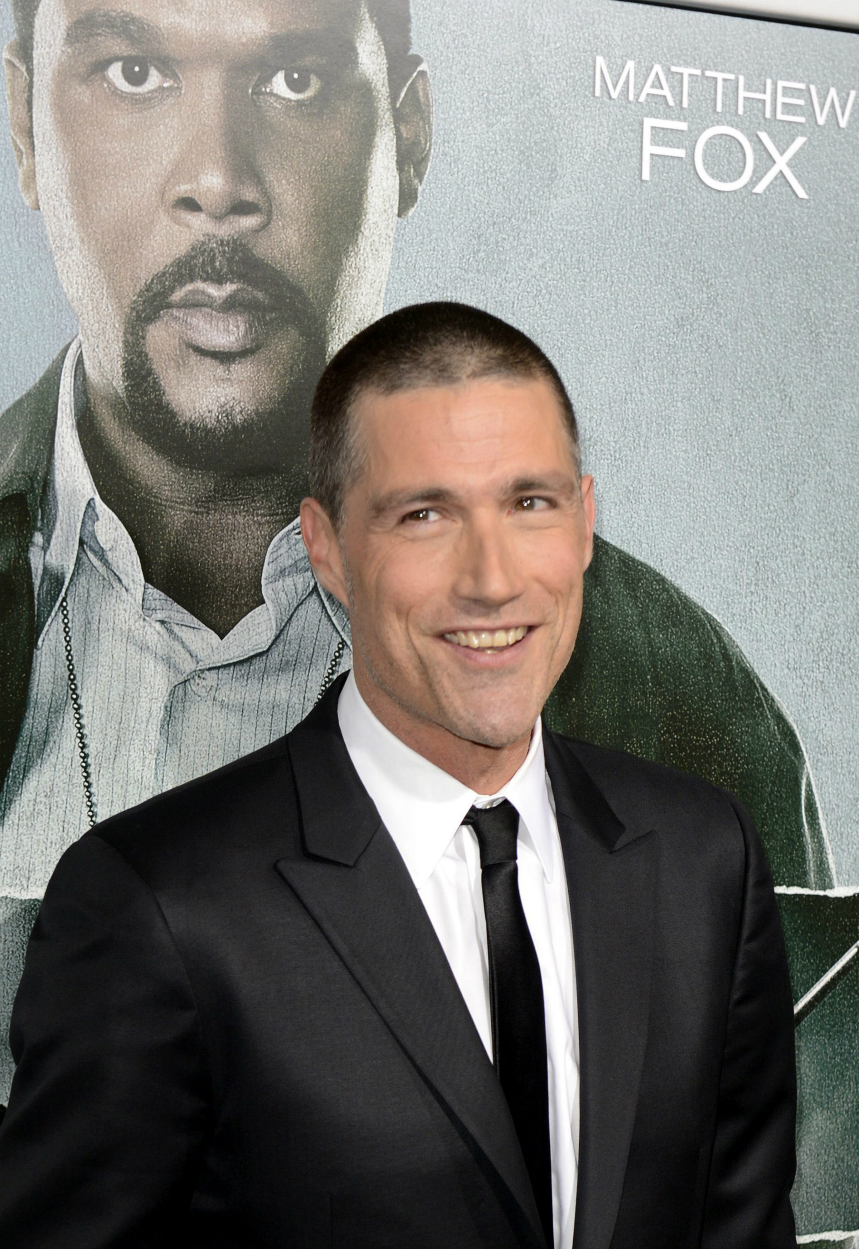 El actor estadounidense Matthew Fox en 2012, en el estreno de Alex Cross en el ArcLight Cinerama Dome en Hollywood, California (EEUU). EFE/MICHAEL NELSON