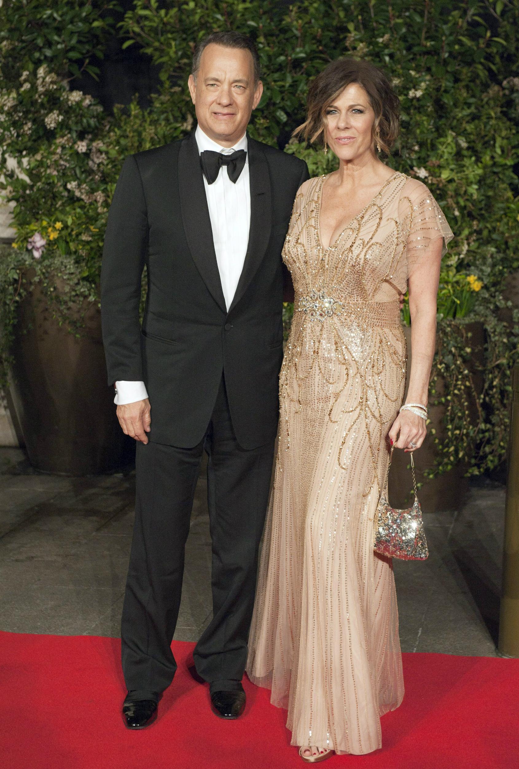 La actriz Rita Wilson, esposa de Tom Hanks, ha superado un cáncer de mama. EFE/EPA/WILL OLIVER