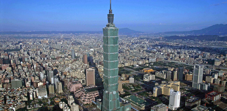 Una imagen de la torre TAIPEI 101, en Taipéi, Taiwan que ha sabido reciclarse con el paso de los años. Foto: Taipei Financial. Foto cedida por The Council on Tall Buildings and Urban Habitat (CTBUH).